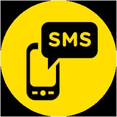 Darmowe potwierdzenie<br /> odbioru przekazu<br /> przez SMS*